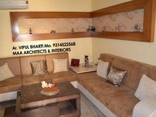 MAA ARCHITECTS & INTERIOR DESIGNERS Modern Living Room