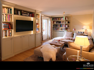 Wagner Möbel Manufaktur غرفة المعيشة