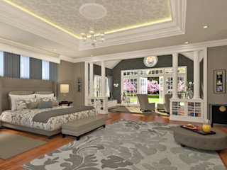 Mallorca Living Quality Mediterranean style bedroom