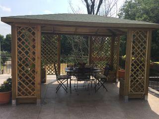 ONLYWOOD Mediterranean style garden Solid Wood