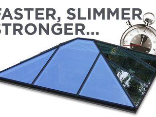 Aluminium Roof Lantern (Korniche) Premier Roof Systems Modern conservatory