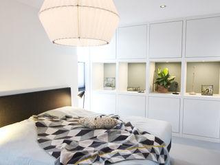Zolderverdieping Delfgauw Nya Interieurontwerp SlaapkamerGarderobe- & ladekasten