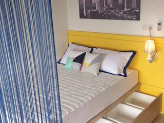 RANAH Modern style bedroom Yellow