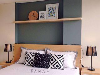 RANAH Scandinavian style bedroom Grey