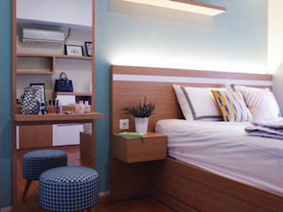 RANAH Modern style bedroom Green