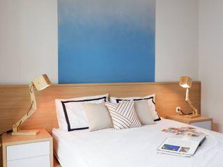 RANAH Minimalist bedroom Blue