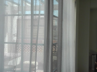 Sistemas de rieles curvos para cortinas y visillos Navarro valera cortinas y hogar ComedorAccesorios y decoración Lino