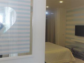 Blue LOve Room Espaços Únicos - EU InteriorDecor QuartoAcessórios e decoração