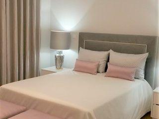 Suite Hotel Espaços Únicos - EU InteriorDecor QuartoMesa de cabeceira