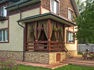 Уличные шторы для веранды DECOR OUTDOOR Балкон, веранда и террасаАксессуары и декор Текстиль Бежевый