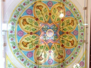Vetrata in stile neoclassico Baldantoni Group ArteAltri oggetti d'arte