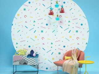 Into The Groove Pixers Living roomAccessories & decoration Multicolored