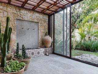Le Jardin Arquitectura Paisagística Tropikal Bahçe