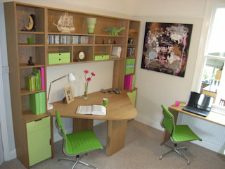 home office Style Within Modern study/office Wood Green