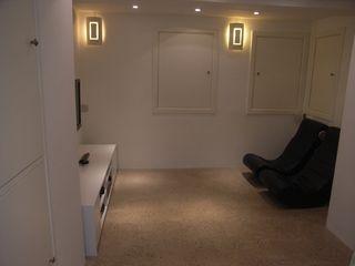 basement conversions Style Within Basement windows Concrete White