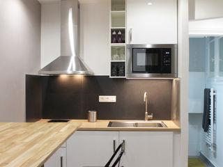 Agence ADI-HOME Dapur Modern Aluminium/Seng Metallic/Silver