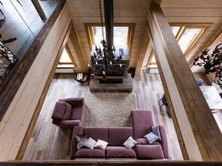 GOOD WOOD Moderne Wohnzimmer