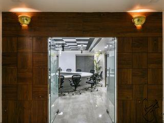 ES Designs Nowoczesne domowe biuro i gabinet