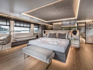 Esra Kazmirci Mimarlik Modern yachts & jets Grey