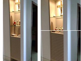 LVM Arquitetura Modern corridor, hallway & stairs