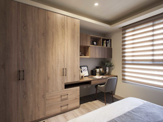 立禾空間設計有限公司 Modern Bedroom