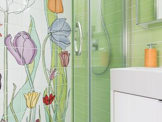 Grippo + Murzi Architetti Baños modernos