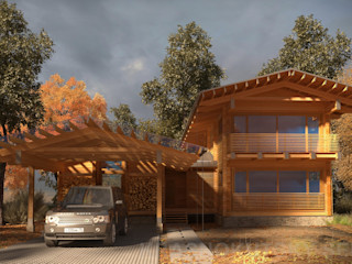 project-ks Wooden houses Wood Wood effect