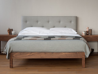 Buttoned Headboard Beds Natural Bed Company BedroomBeds & headboards