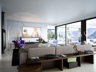 mcp-render Salas de estar modernas