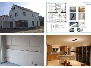lichtundobjektberatung.de Modern houses Metal White