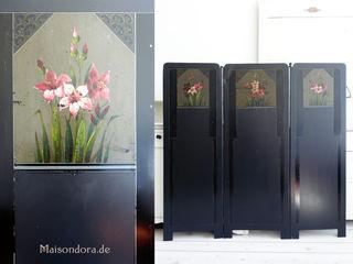 Maisondora Vintage Living HuishoudenRuimteverdelers & schermen Metaal Zwart