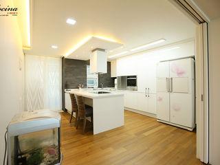 cocina Cocinas de estilo moderno Blanco