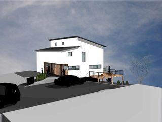 Neubau eines EFH als Sonnenhaus | JMM a r c h i t e k t u r b ü r o grimm Moderne Häuser