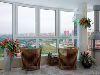 Студия интерьерного дизайна happy.design Modern terrace