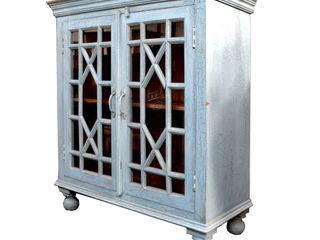 Guru-Shop Living roomCupboards & sideboards Wood Blue