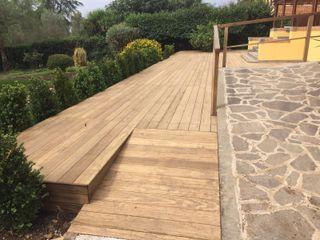 Imola Legno S.p.A. socio unico Modern style gardens