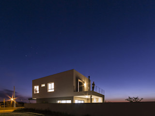 Taguá Arquitetura Maisons minimalistes Blanc