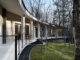 Guesthouse in Karuizawa 久保田章敬建築研究所 Modern Evler