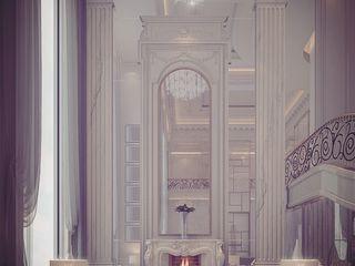 Art de Vivre - Interior Design in Concept of Time IONS DESIGN Modern corridor, hallway & stairs Marble White