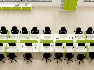FERCIA - Furniture Solutions Espaces de bureaux modernes Bois d'ingénierie