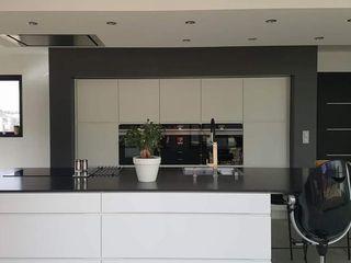 LSAI Cozinhas modernas Granito Branco