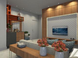 Espaço AU Modern living room