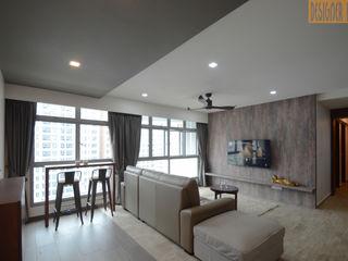 BTO Edgedale Plains Designer House Living roomAccessories & decoration Brown