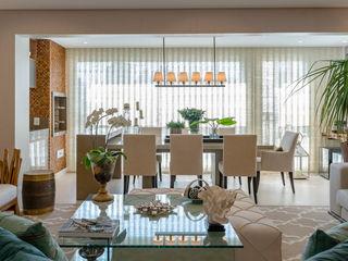 Apartamento Morumbi - São Paulo Izilda Moraes Arquitetura Salas de jantar modernas
