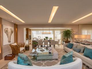 Apartamento Morumbi - São Paulo Izilda Moraes Arquitetura Salas de estar modernas