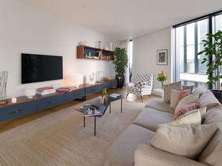 Neo Bankside Apartments Graham D Holland Living room