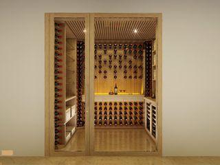 EDR - Adegas Climatizadas Wine cellar Glass Multicolored