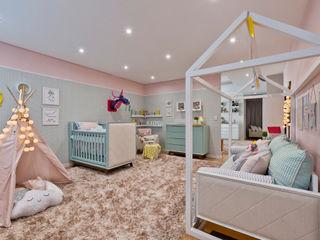 KIDS Arquitetura para pequenos Modern Kid's Room Pink