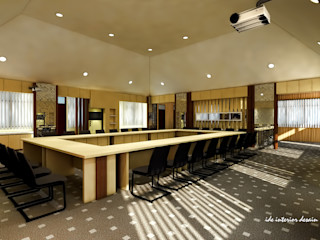 Ide Interior Study/office Plywood Brown