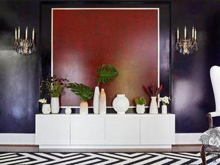 Pop of Color Kellie Burke Interiors Living room